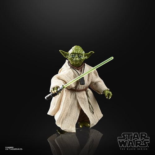 Star Wars The Black Series Empire Strikes Back 40th Anniversary 6-Inch Yoda Action Figure Wave 1