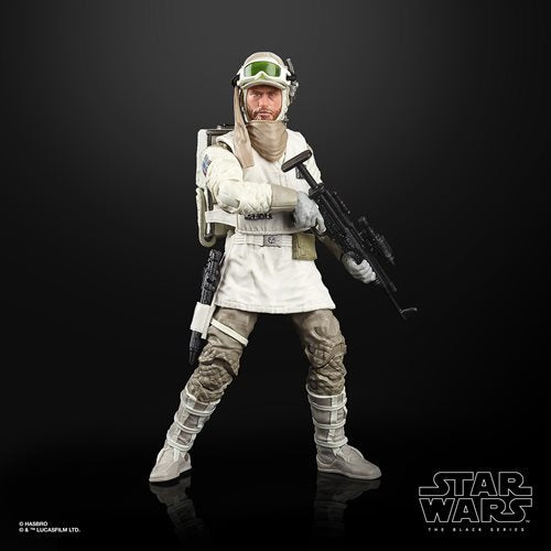 Star Wars The Black Series Empire Strikes Back 40th Anniversary 6-Inch Hoth Rebel Soldier Action Figure Wave 2  - AUGUST 2020