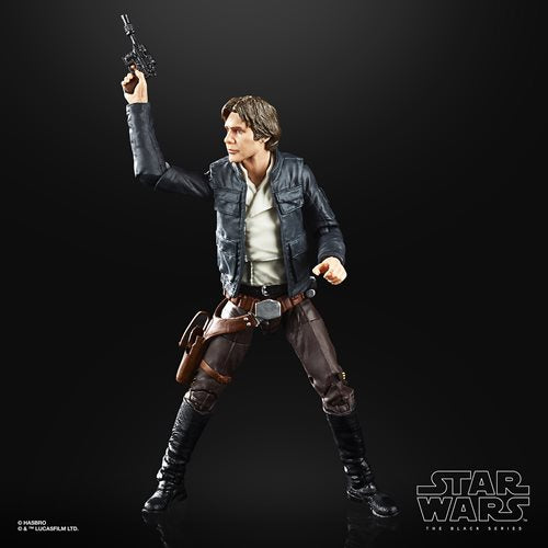 Star Wars The Black Series Empire Strikes Back 40th Anniversary 6-Inch Bespin Han Solo Action Figure Wave 1