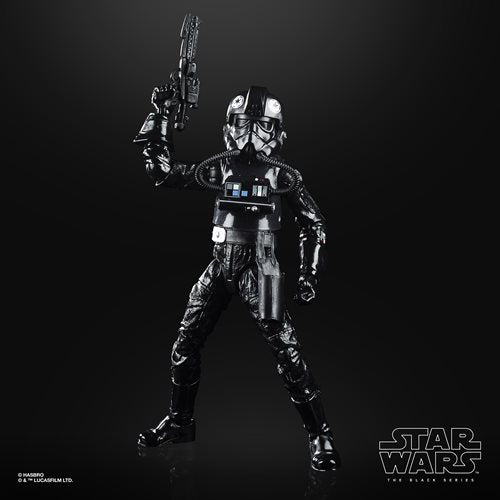 Star Wars The Black Series Empire Strikes Back 40th Anniversary 6-Inch TIE Fighter Pilot Action Figure Wave 2