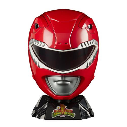 Power Rangers Lightning Collection Premium Red Ranger Helmet Prop Replica - OCTOBER 2020