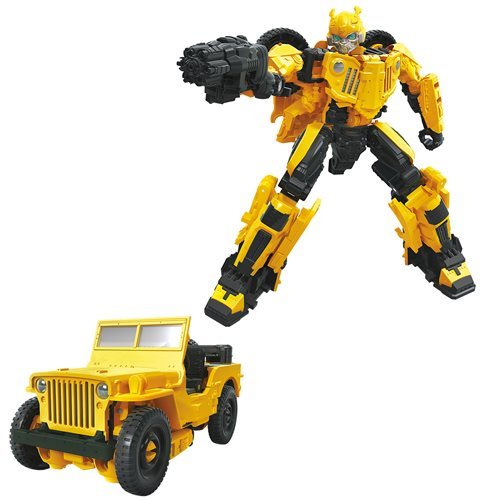Transformers Studio Series Deluxe Wave 9 - Jeep Bumblebee (DAMAGED BOX)