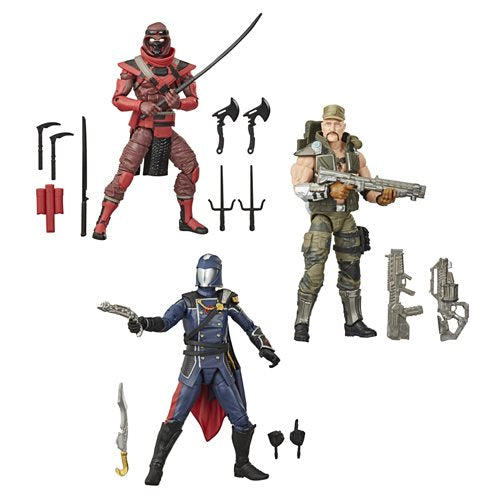 G.I. Joe Classified Series 6-Inch Action Figures Wave 2 Case Set of 3 - OCTOBER 2020