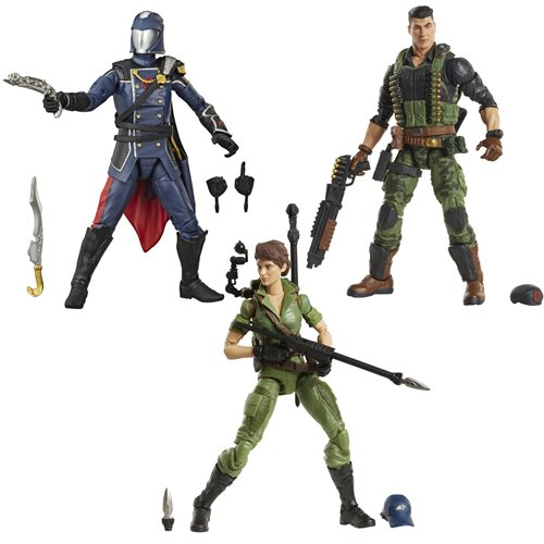 G.I. Joe Classified Series 6-Inch Action Figures Wave 4 Case - JULY 2021