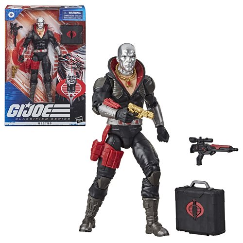 G.I. Joe Classified Series 6-Inch Destro Action Figure - JUNE 2020