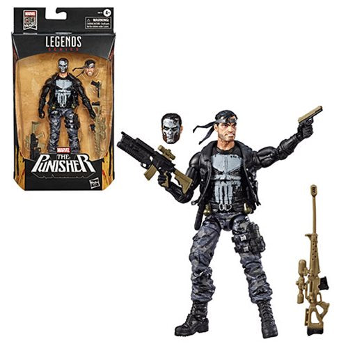 Marvel Legends Punisher 6-Inch Action Figure - Exclusive - NOVEMBER 2019