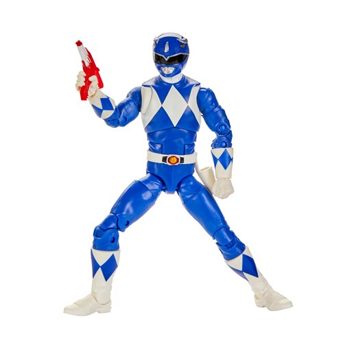 Power Rangers Lightning Collection Wave 5 - Mighty Morphin Blue Ranger 6-Inch Action Figure - JUNE 2020