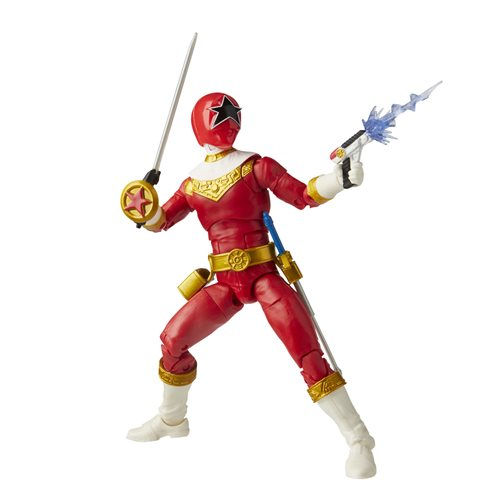 Power Rangers Lightning Collection Zeo Red Ranger 6-Inch Action Figure - OCTOBER 2020