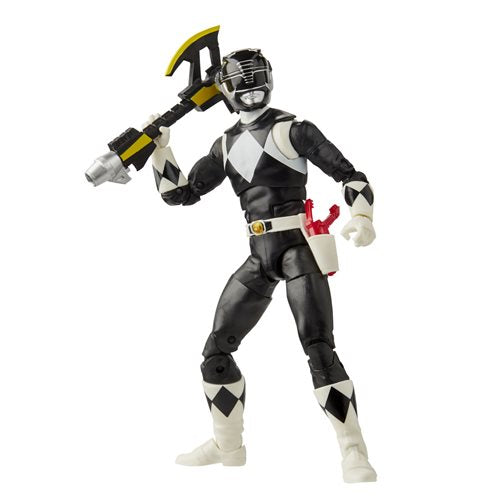 Power Rangers Lightning Collection Mighty Morphin Black Ranger 6-Inch Action Figure - OCTOBER 2020
