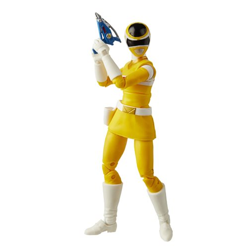 Power Rangers Lightning Collection In Space Yellow Ranger 6-Inch Action Figure - OCTOBER 2020