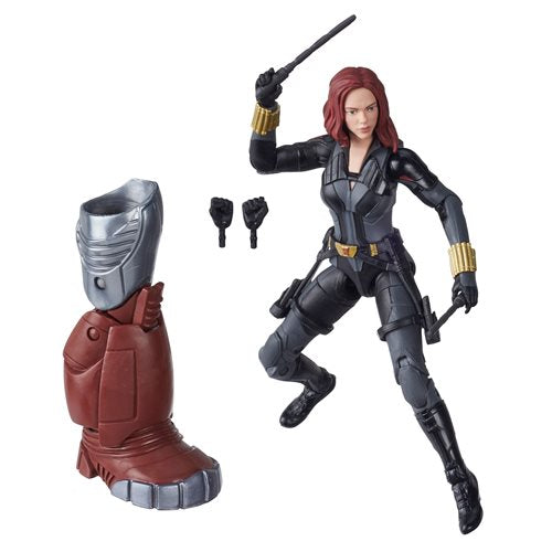 Black Widow Marvel Legends 6-Inch Black Widow Action Figure (Crimson Dynamo BAF)- APRIL 2020