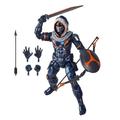 Black Widow Marvel Legends 6-Inch Taskmaster Action Figure (Crimson Dynamo BAF)- APRIL 2020