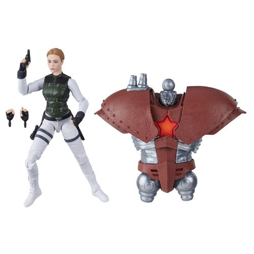 Black Widow Marvel Legends 6-Inch Yelena Bolova Action Figure (Crimson Dynamo BAF)- APRIL 2020