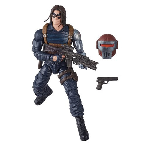 Black Widow Marvel Legends 6-Inch Winter Soldier Action Figure (Crimson Dynamo BAF)- APRIL 2020