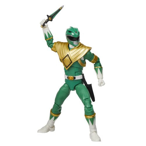 Power Rangers Lightning Collection Mighty Morphin Green Ranger 6-Inch Action Figure - JANUARY 2021