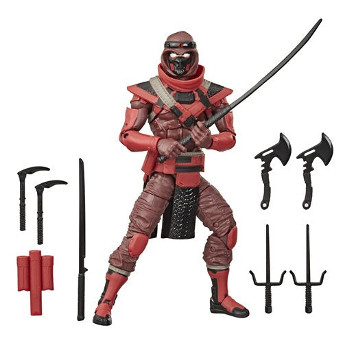 G.I. Joe Classified Series 6-Inch Red Ninja Action Figure - OCTOBER 2020