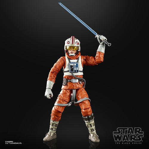 Star Wars The Black Series Empire Strikes Back 40th Anniversary 6-Inch Luke Skywalker Hoth Pilot Action Figure Wave 2