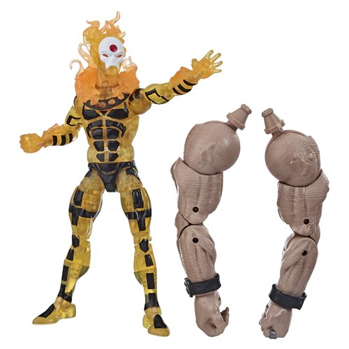 X-Men Age of Apocalypse Marvel Legends 6-Inch Sunfire Action Figure(BAF Sugar Man)- MAY 2020