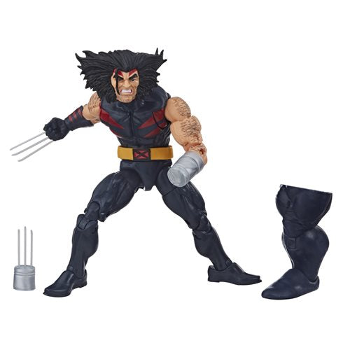 X-Men Age of Apocalypse Marvel Legends 6-Inch Weapon X Action Figure (BAF Sugar Man)(DAMAGED BOX)