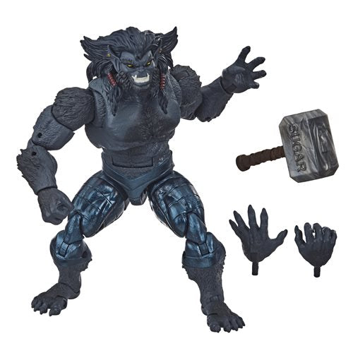 X-Men: Age of Apocalypse Marvel Legends 6-Inch Dark Beast Action Figure (BAF Sugar Man)