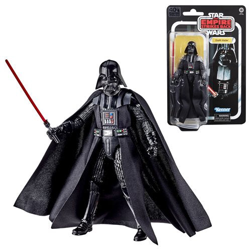 Star Wars The Black Series Empire Strikes Back 40th Anniversary 6-Inch Darth Vader Action Figure - SEPTEMBER 2020