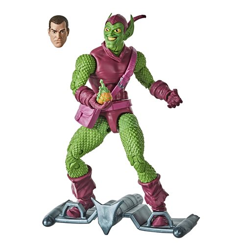 Spider-Man Retro Marvel Legends Green Goblin 6-Inch Action Figure