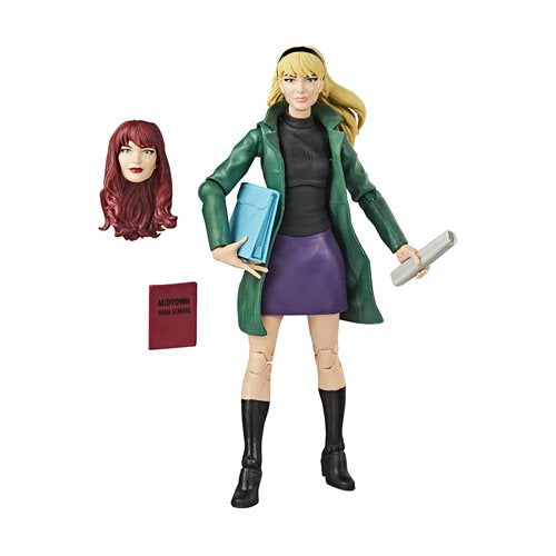 Spider-Man Retro Marvel Legends Gwen Stacy 6-Inch Action Figure - AUGUST 2020