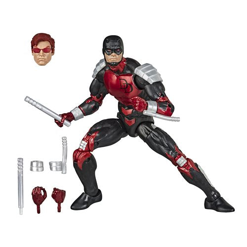 Spider-Man Retro Marvel Legends Daredevil 6-Inch Action Figure
