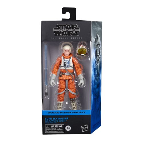 Star Wars The Black Series Wave 5 (2020) Luke Skywalker (Snowspeeder) 6-Inch Action Figure - AUGUST 2020