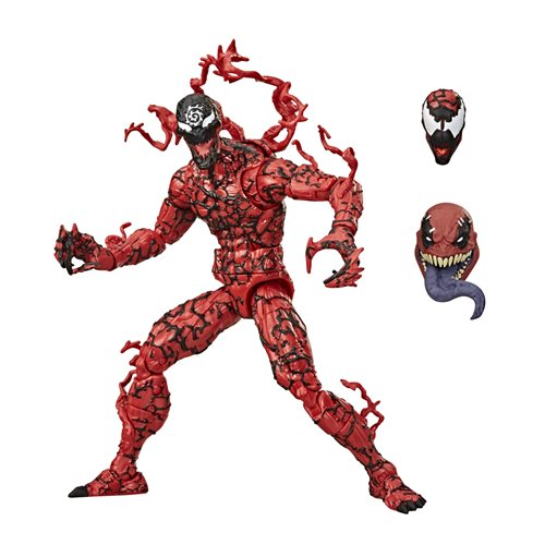 Venom Marvel Legends Wave 2 (Venompool BAF) 6-Inch Carnage Action Figure - NOVEMBER 2020