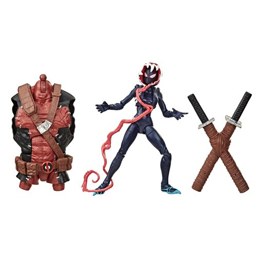 Venom Marvel Legends Wave 2 (Venompool BAF) 6-Inch Ghost-Spider Action Figure - NOVEMBER 2020