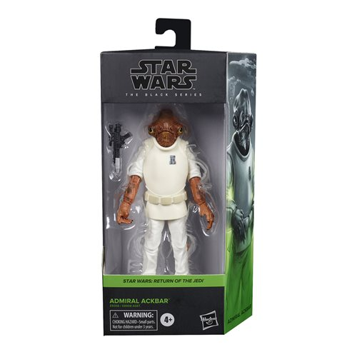 Star Wars The Black Series Wave 5 (2020) Admiral Ackbar 6-Inch Action Figure - AUGUST 2020