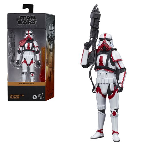 Star Wars The Black Series Incinerator Trooper 6-Inch Action Figure - JANUARY 2021