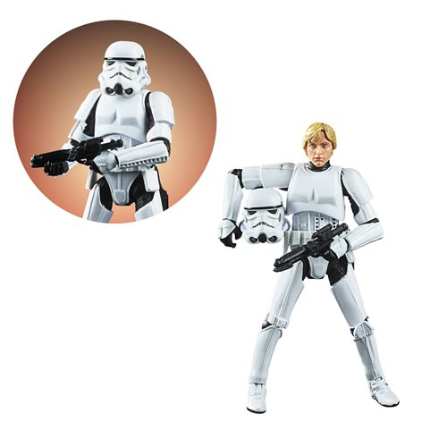 Star Wars The Vintage Collection Luke Skywalker Stormtrooper Disguise 3 3/4-Inch Action Figure- OCTOBER 2020