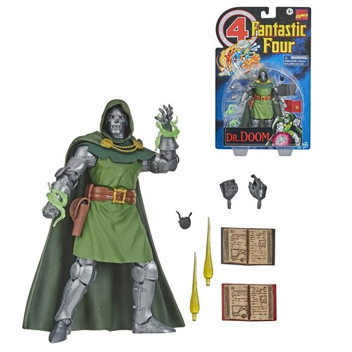 Fantastic Four Marvel Legends Series 6-Inch Doctor Doom Action Figure - Exclusive - NOVEMBER 2020