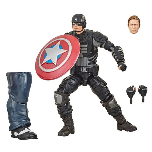 Avengers Video Game Marvel Legends 6-Inch Stealth Captain America Action Figure - OCTOBER 2020