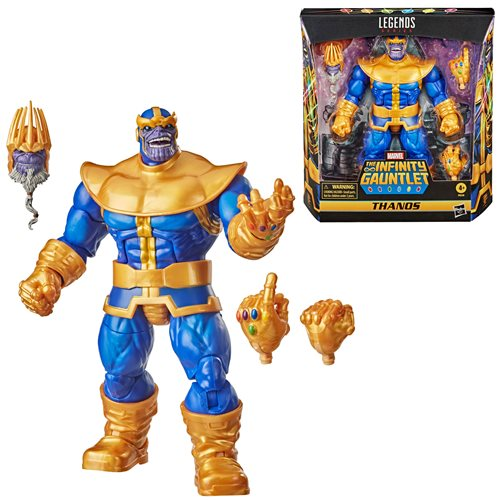 Marvel Legends Series 6-inch Thanos Action Figure - MARCH 2021