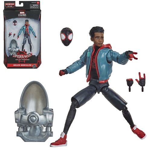 Spider-Man Marvel Legends 6-Inch Miles Morales Action Figure - FEBRUARY 2021
