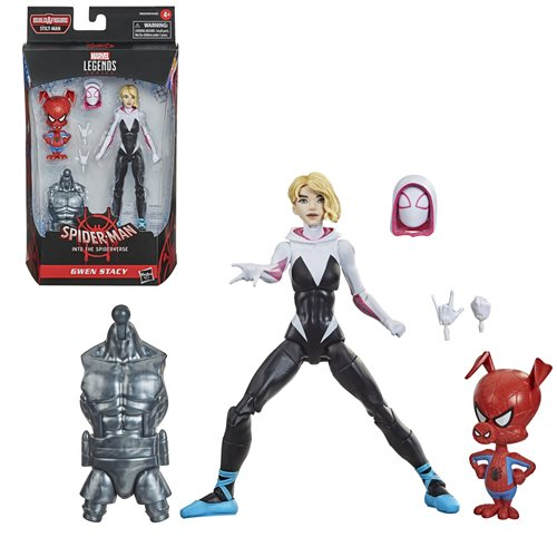 Spider-Man Marvel Legends 6-Inch Spider-Gwen and Peter Porker Action Figure - FEBRUARY 2021
