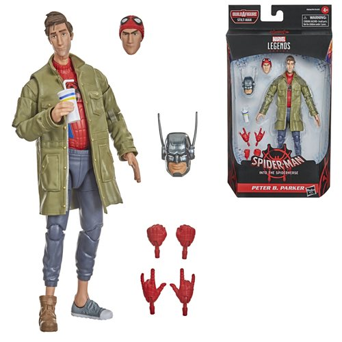 Spider-Man Marvel Legends 6-Inch Peter B. Parker Action Figure - FEBRUARY 2021