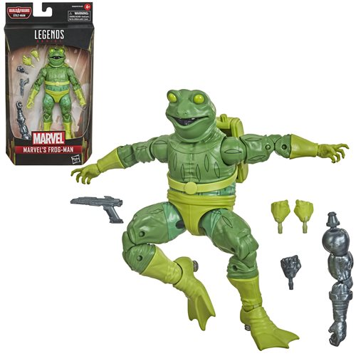 Spider-Man Marvel Legends 6-Inch Frog-Man Action Figure - FEBRUARY 2021