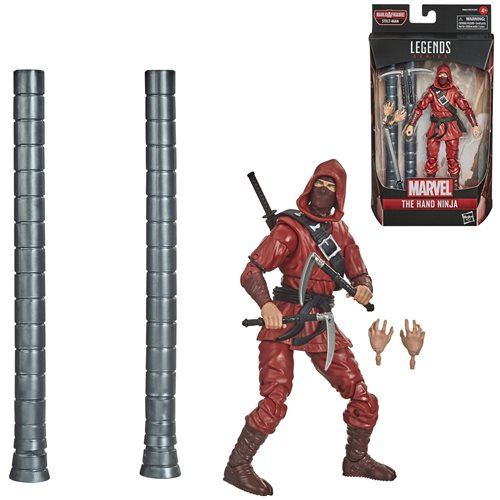 Spider-Man Marvel Legends 6-Inch The Hand Ninja Action Figure - FEBRUARY 2021