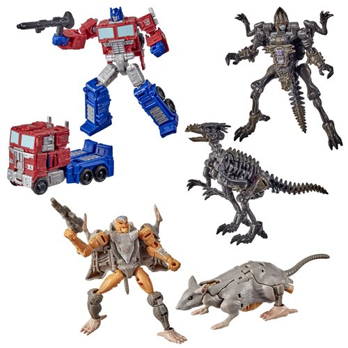 Transformers Generations Kingdom Core Wave 1 Set of 3 - JANUARY 2021
