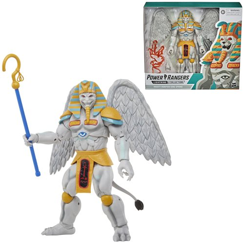 Power Rangers Lightning Collection Mighty Morphin King Sphinx 6-Inch Action Figure - JANUARY 2021