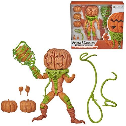 Power Rangers Lightning Collection Mighty Morphin Pumpkin Rapper 6-Inch Action Figure - JANUARY 2021