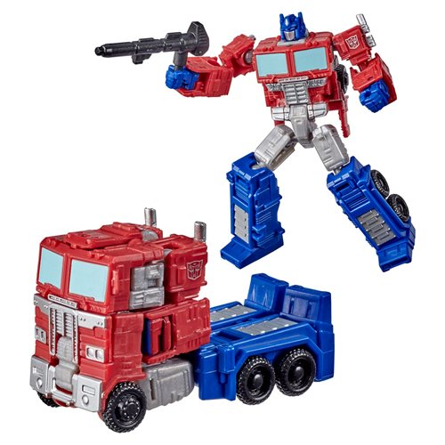 Transformers War for Cybertron Kingdom Core Optimus Prime - JANUARY 2021