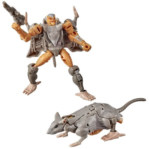 Transformers War for Cybertron Kingdom Core Rattrap - JANUARY 2021