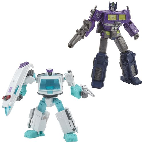 Transformers Generations Selects Shattered Glass Optimus Prime and Ratchet 2-Pack - Exclusive - DECEMBER 2020