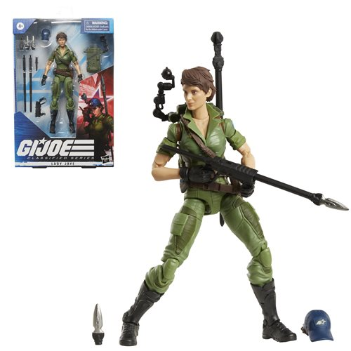 G.I. Joe Classified Series 6-Inch Lady Jaye Action Figure - JULY 2021