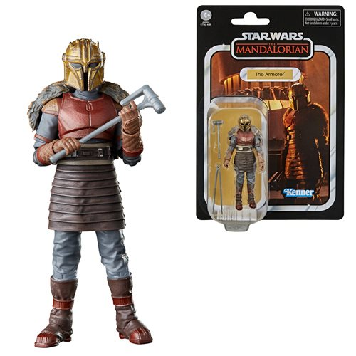 Star Wars The Vintage Collection The Armorer 3 3/4-Inch Action Figure - JANUARY 2021